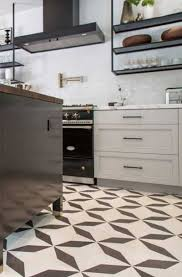 white kitchen cabinets black tile floor 23 black white tile design ideas sebring design build