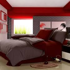 and red bedding