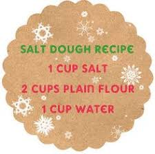 salt dough recipe for crafts bake any craft with this recipe at