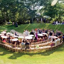 wedding backdrop alternatives 3 alternative ceremony seating ideas brides