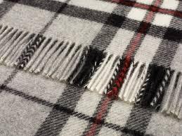 Picnic Rugs Melbourne Wool Blanket Online British Made Gifts Grey Thompson Tartan