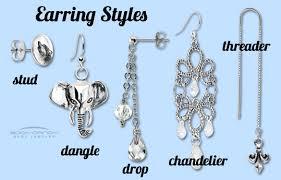 types of earrings for women 57 stud type earrings sterling silver 5mm stud earrings