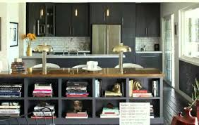 Kitchen Bookshelf Ideas by Furniture Surprising Bookshelf Room Divider With Black Kitchen
