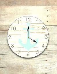nursery wall clock nursery wall clocks baby wall clocks baby boy