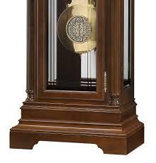 Howard Miller Grandfather Clock Value 611248 Howard Miller Inlay Marquetry Design Pediment Cherry