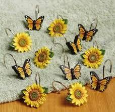 Sunflower Kitchen Curtains Sunflower Design Kitchen Curtain Sunflower I Love Pinterest