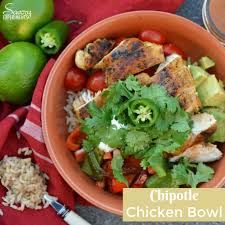 chipotle chicken rice bowls savory experiments