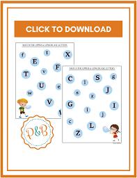 worksheet alphabet recognition worksheets for kindergarten free