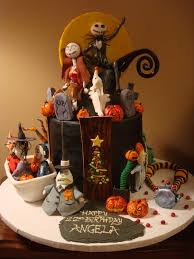 cool nightmare before 22nd birthday cake between the pages