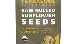 organic sunflower sprouting seeds shell on non gmo black oil