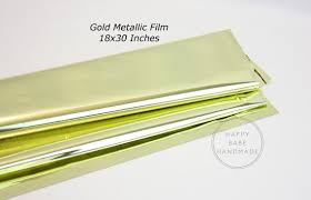 mylar wraps gold metallic mylar 30x18 inch 10 sheets mylar gold mylar