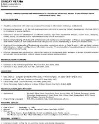 Sample Resume For Software Engineer Fresher by Sample Resume For Freshers Download Free U0026 Premium Templates