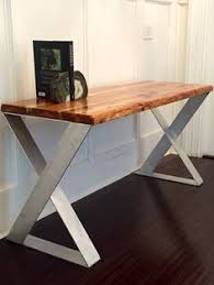 reclaimed wood desk for sale custom made modern industrial dining table desk reclaimed wood top