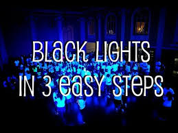 how to setup black lights in 3 easy steps
