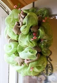 mesh wreaths deco mesh wreath minding my nest