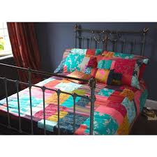 clarissa hulse patchwork rainbow duvet cover u2013 next day delivery