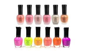 best of nail polish by kleancolor 6 or 12 piece groupon