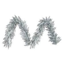 white garland silver christmas garland target