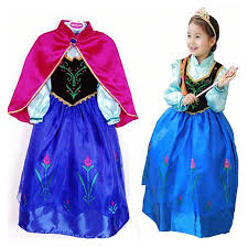 elsa costume 2017 new kids elsa costume dress for princess dresses
