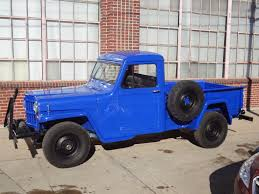 jeep station wagon for sale 1960 willys pickup 4x4 frame off restored youtube