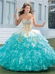 quinceanera dresses aqua new stylish 2015 vestido de aqua quinceanera dresses ruffled