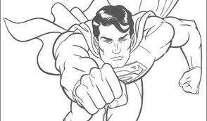 coloring pages trendy superman color sheet printable coloring