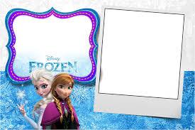 Birthday Card Invitations Templates Free Frozen Birthday Invitation Template