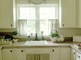 Interior In Kitchen Beautiful French Style Kitchen Curtains Blue Of Country Styles