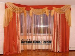 orange bedroom curtains orange curtains and window treatments