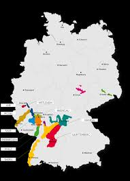 Italy Wine Regions Map by German Wine Regions Map
