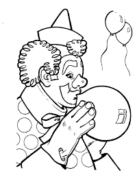 coloring page clown coloring pages 3
