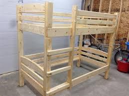 2x4 Bunk Beds 2x4 Bunk Bed Frame Plans Intersafe