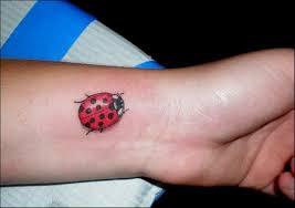 29 impressive ladybug wrist tattoos