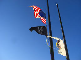 Flag Half Mass Today Disgraceful Illinois Flag Flying Homestead Rest Area I 55 Northbound