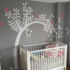 Baby Nursery Tree Wall Decals by Nursery Tree Wall Decal With Customized Name Wall Sticker