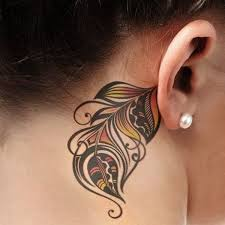 cover tattoo behind your ear 60 pretty designs of ear tattoos 2017