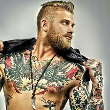 classic style chest tattoo venice tattoo art designs
