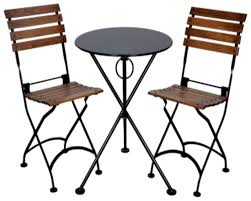 Marble Bistro Table And Chairs Marble Top Bistro Table Set Bonners Furniture