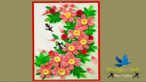 quilling greeting cards for birthday paper quilling art youtube