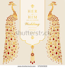 indian wedding card templates vector images illustrations and cliparts indian wedding