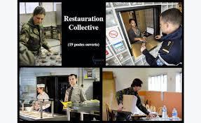 cuisine collective recrutement restauration collective gendarmerie annonce offre emploi