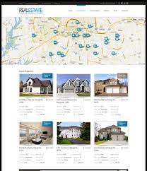 home variant 4 realestate html5 u0026 css3 drupal theme for