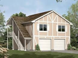 Garage Stairs Design Two Story Garage Aprtment Has Side Outdoor Stairs Classic Tudor