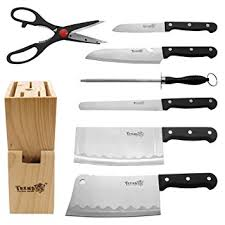 professional kitchen knives set trendbox multipurpose use stainless steel professional kitchen