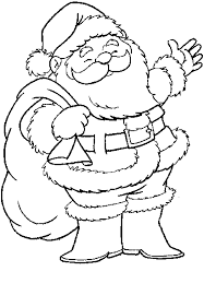 printable santa claus coloring pages coloringstar