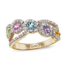 mothers ring mothers rings and family personalized jewelry personalized