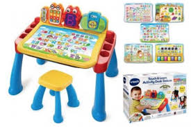 vtech table touch and learn vtech touch and learn activity desk deluxe only 39 82 reg 55