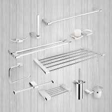 Classic Bathroom Accessories by Bathroom Accessories Shelves Towel Rail Toilet Roll Brush Holder