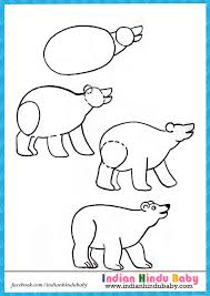 teach your kid to draw bear with simple drawing tips https www