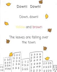 the very busy kindergarten october poems for poetry box